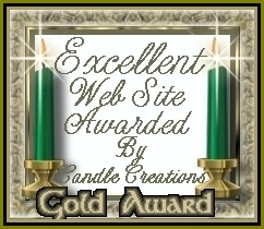 Candle Creations Gold Award