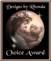 Designs by Rhonda Choice Award