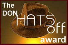 Hats Off Award