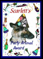 Scarlett's Party Animal Award